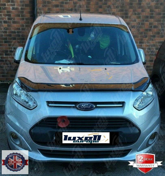 FORD TOURNEO CONNECT 2014UP BONNET WIND STONE DEFLECTOR PROTECTOR NOT BONNET BRA