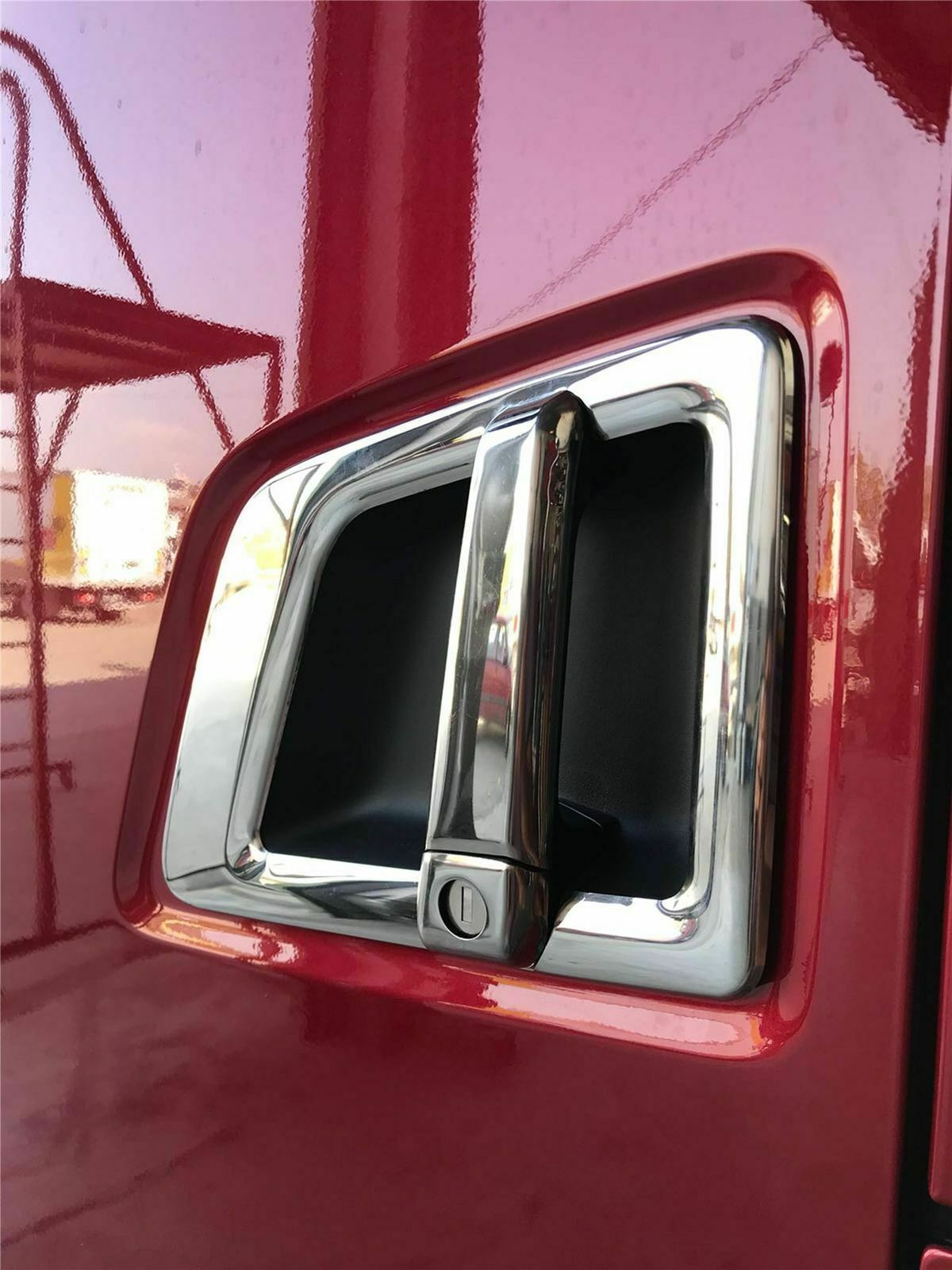 2017Up SCANIA 'S&R' SERIES 4PCS Chrome Door Handle Cover Set STAINLESS STEEL