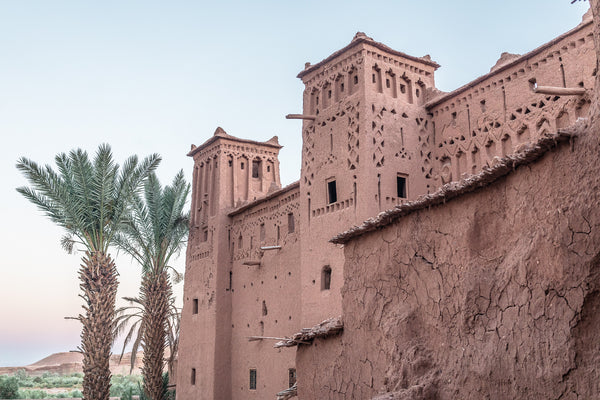 Kasbah in Ait Ben Haddou, Glaoui fortressed Qsar