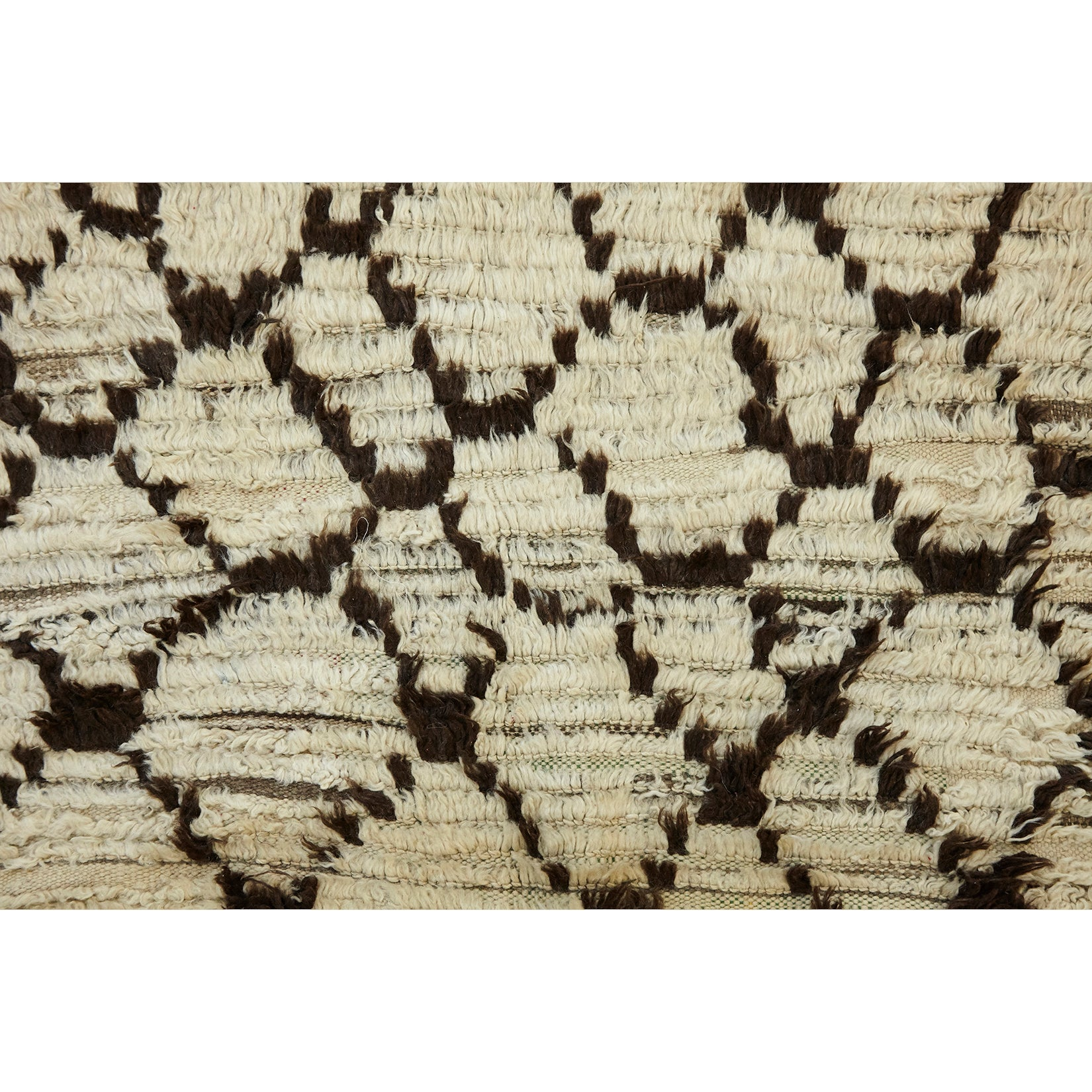 Authentic Berber white textured rug - Kantara | Moroccan Rugs