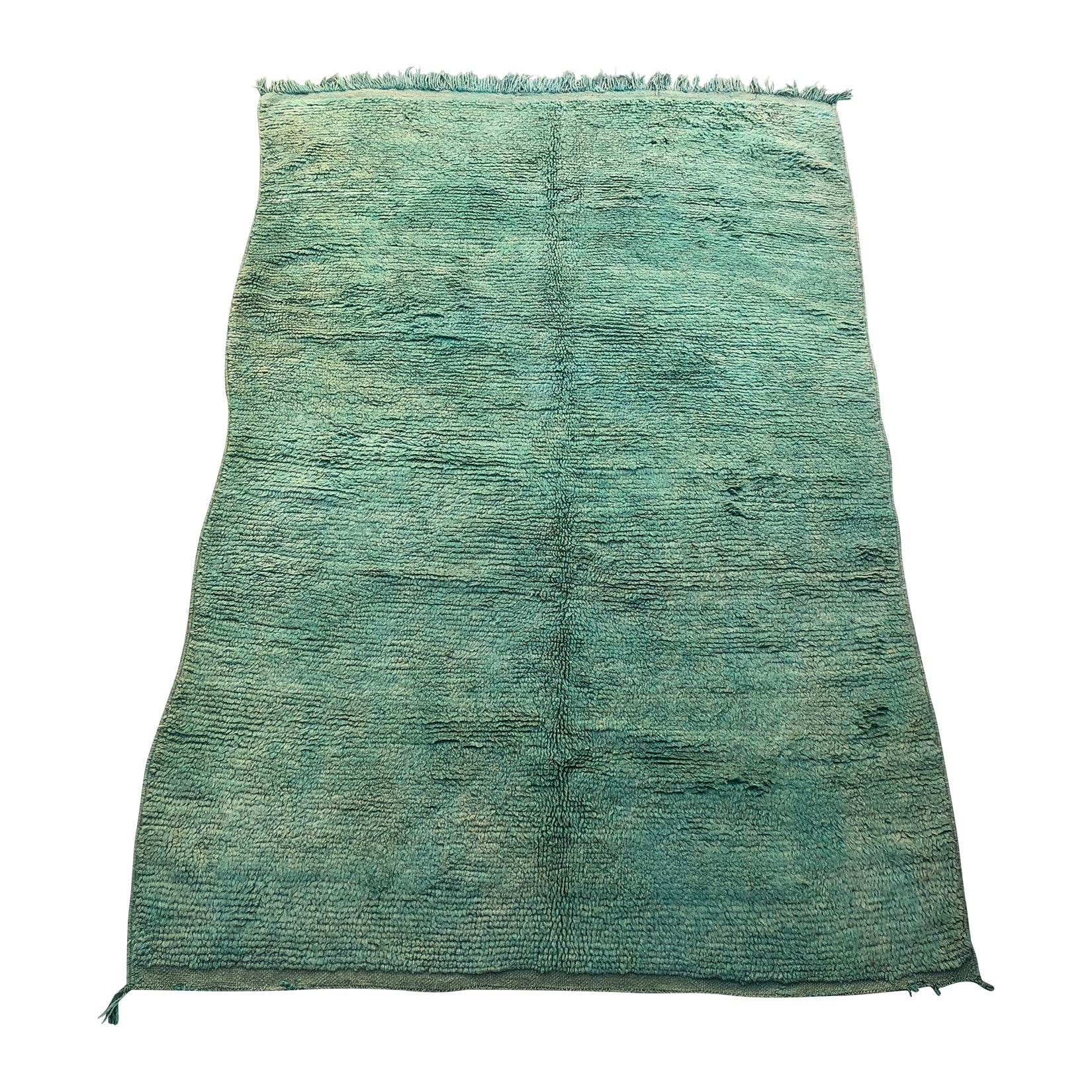 NISHANE - Moroccan area rug in shades of green - Kantara | Moroccan Rugs