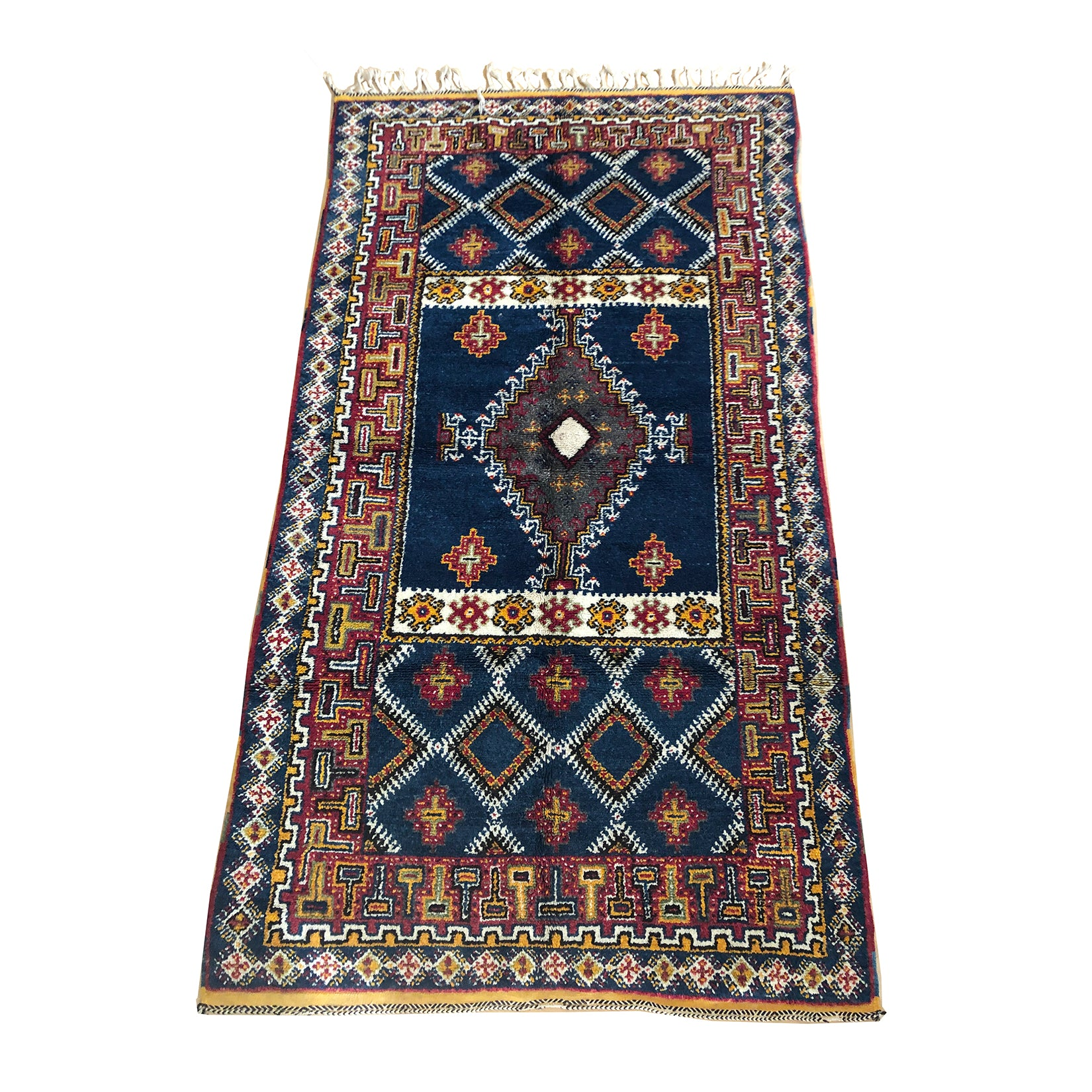 DENIA - Ait Ouaouzguite low pile Moroccan rug - Kantara | Moroccan Rugs