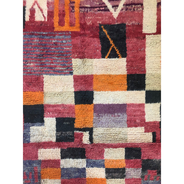 Colorful art deco berber carpet - Kantara | Moroccan Rugs