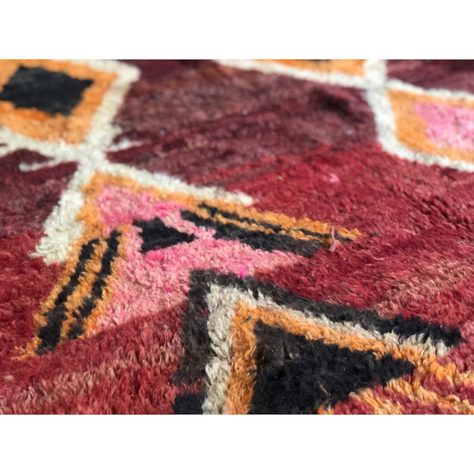 Authentic berber colorful Moroccan rug - Kantara | Moroccan Rugs