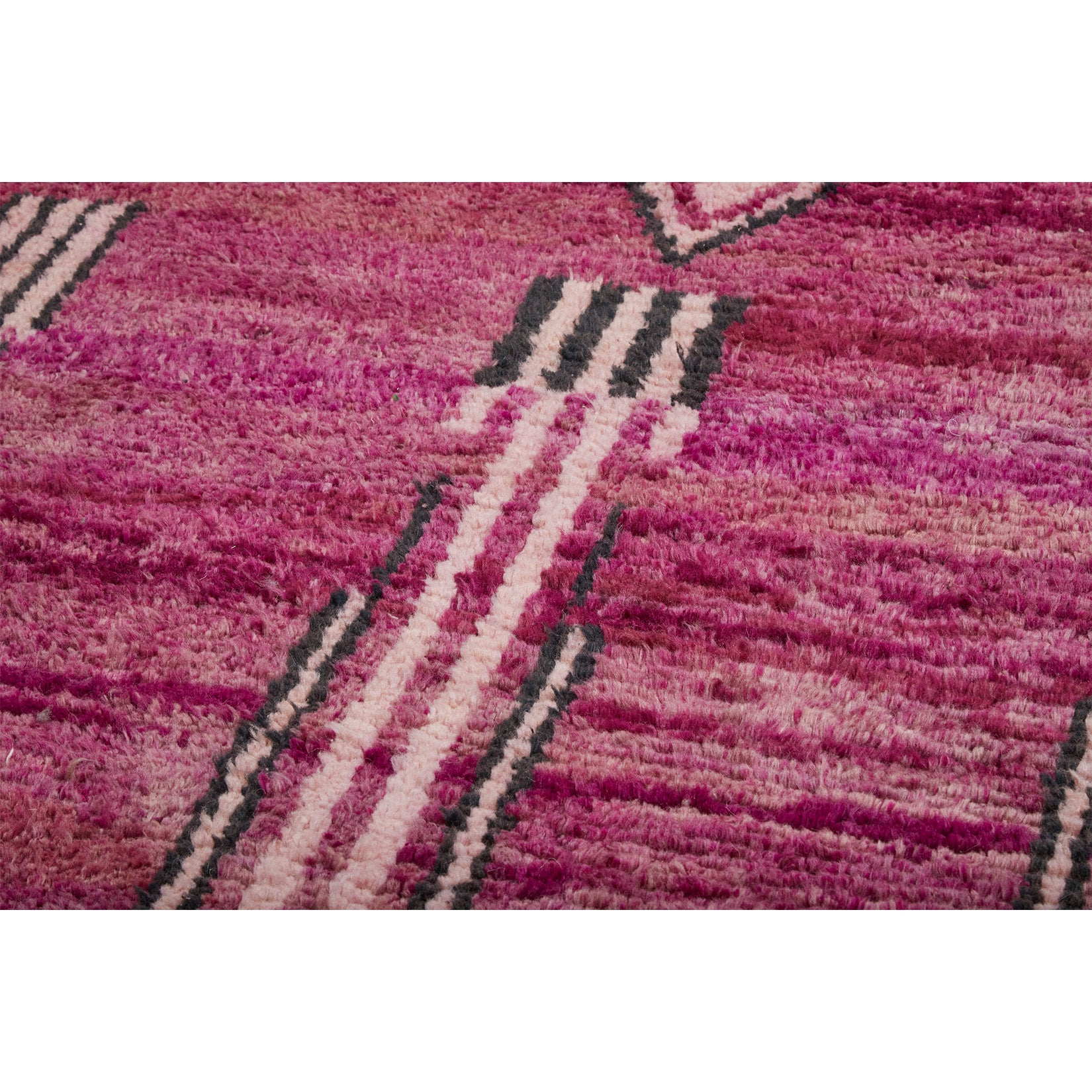 Purple vintage wool berber carpet - Kantara | Moroccan Rugs