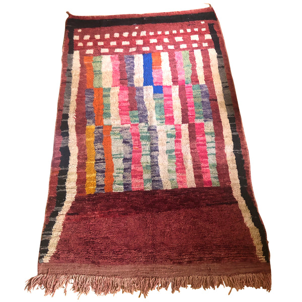 Colorful bohemian berber carpet - Kantara | Moroccan Rugs