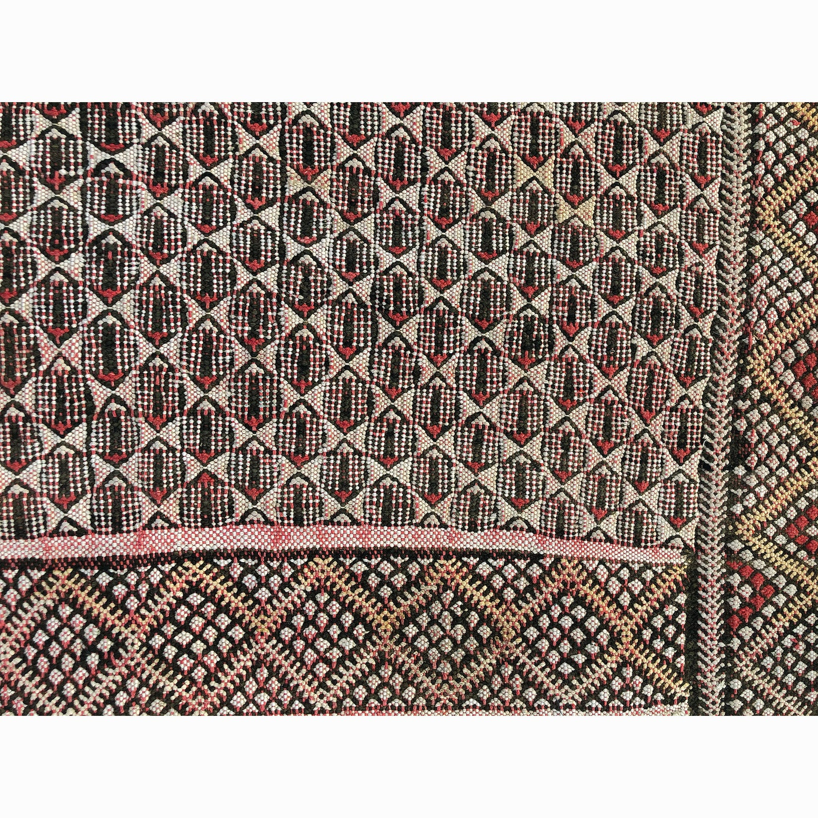 Authentic red tribal berber carpet - Kantara | Moroccan Rugs