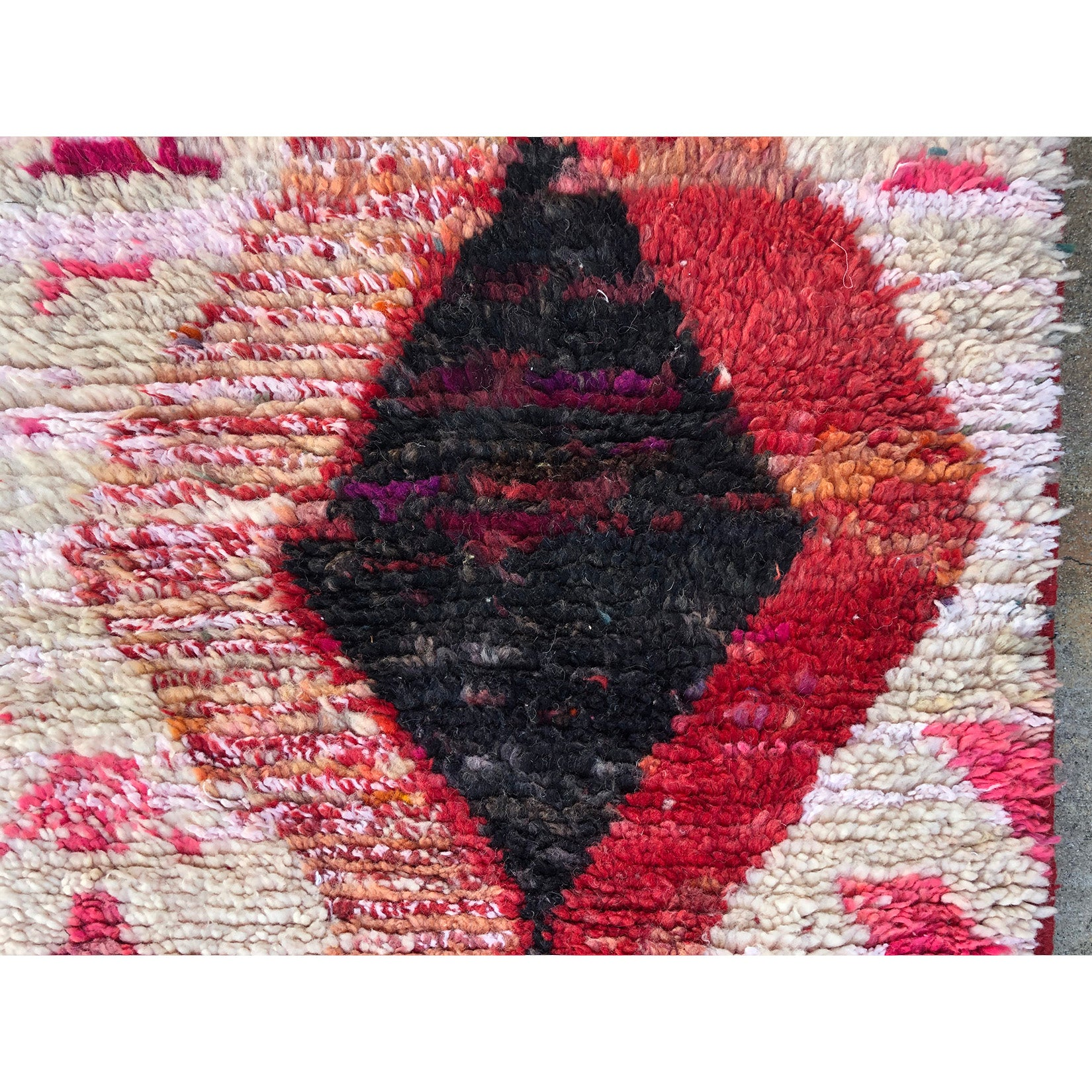 LAMA - Abstract Moroccan runner - Kantara | Moroccan Rugs