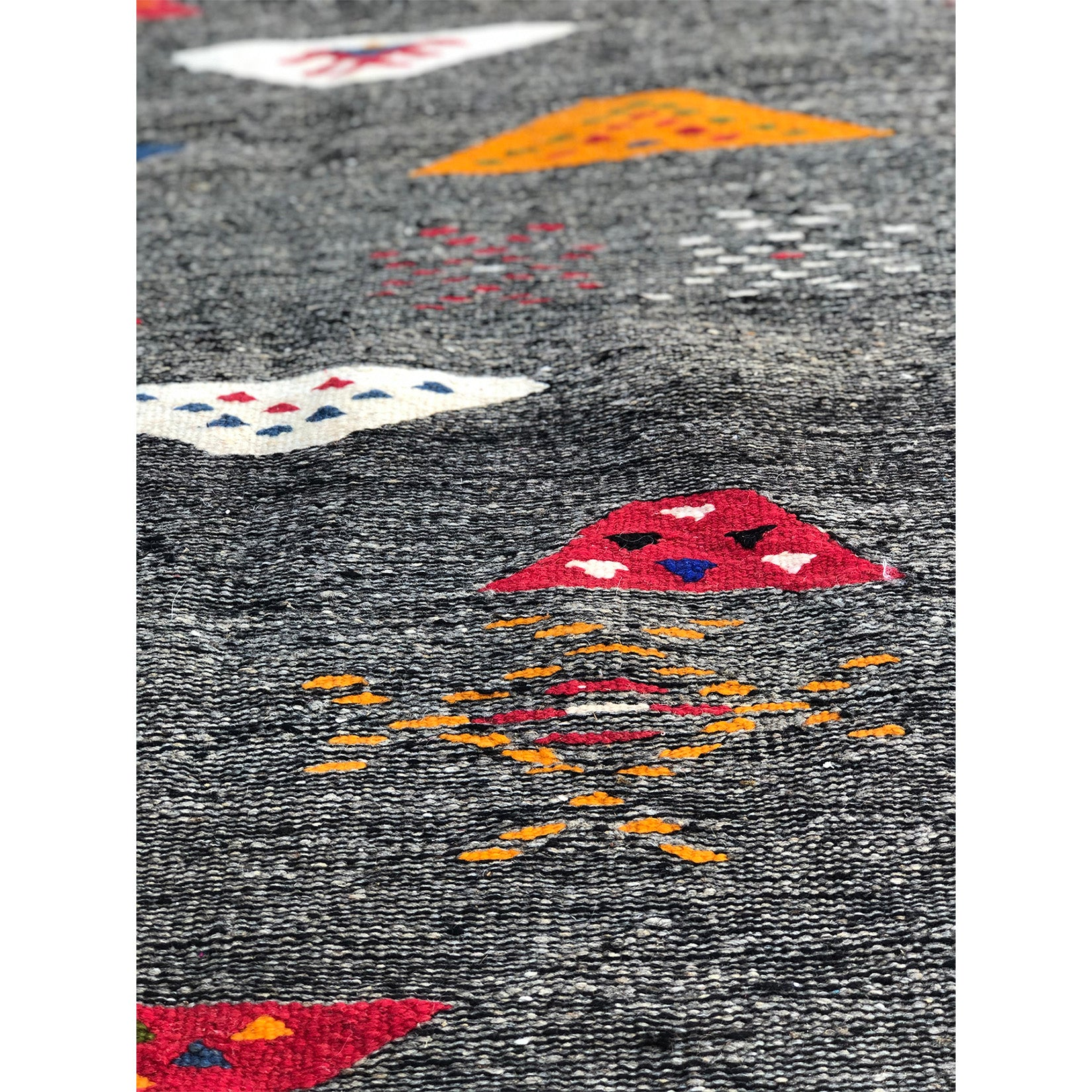 Contemporary gray wool berber carpet - Kantara | Moroccan Rugs