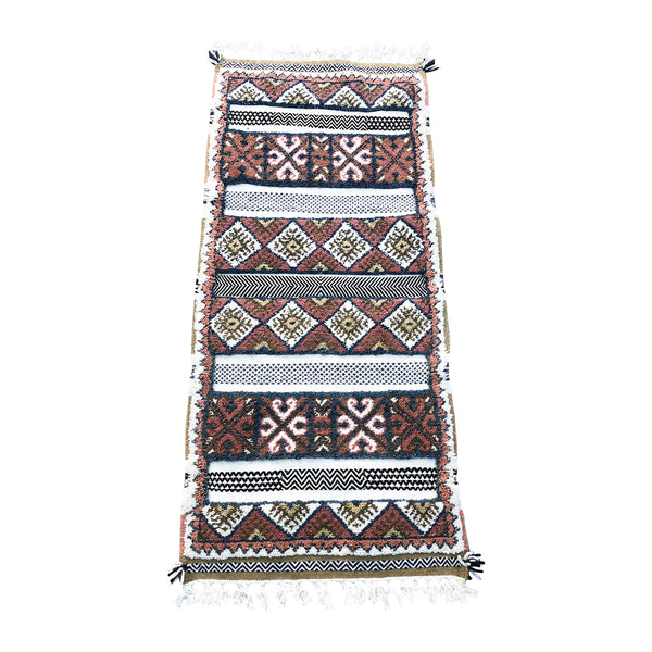 Contemporary tribal Moroccan runner rug - Kantara | Moroccan Rugs