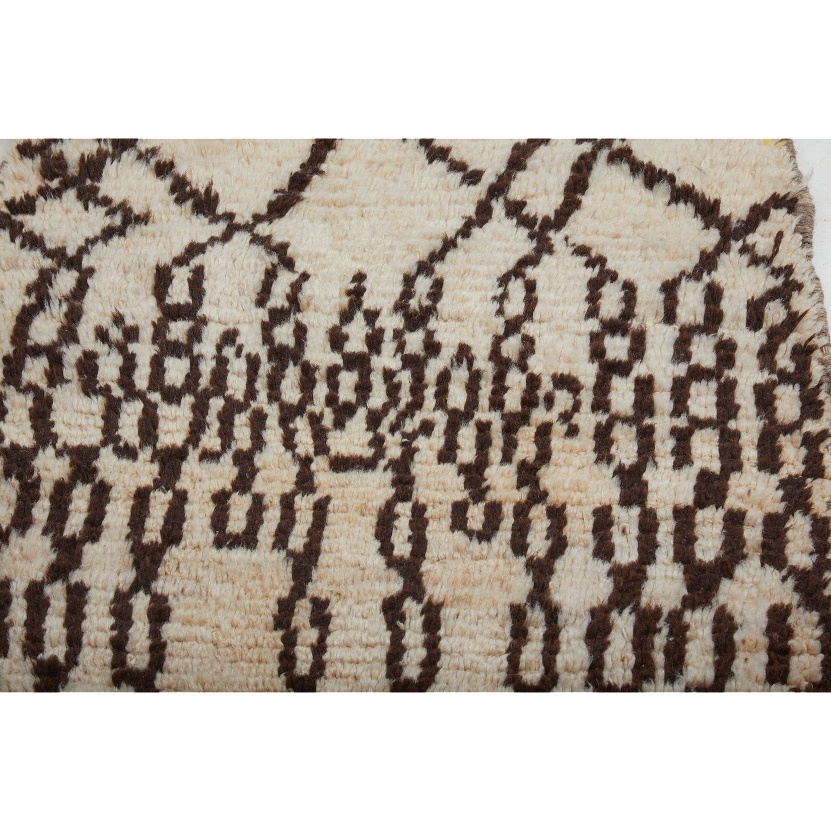 Authentic white berber carpet - Kantara | Moroccan Rugs