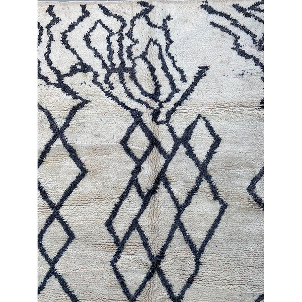 Contemporary hand knotted berber carpet - Kantara | Moroccan Rugs