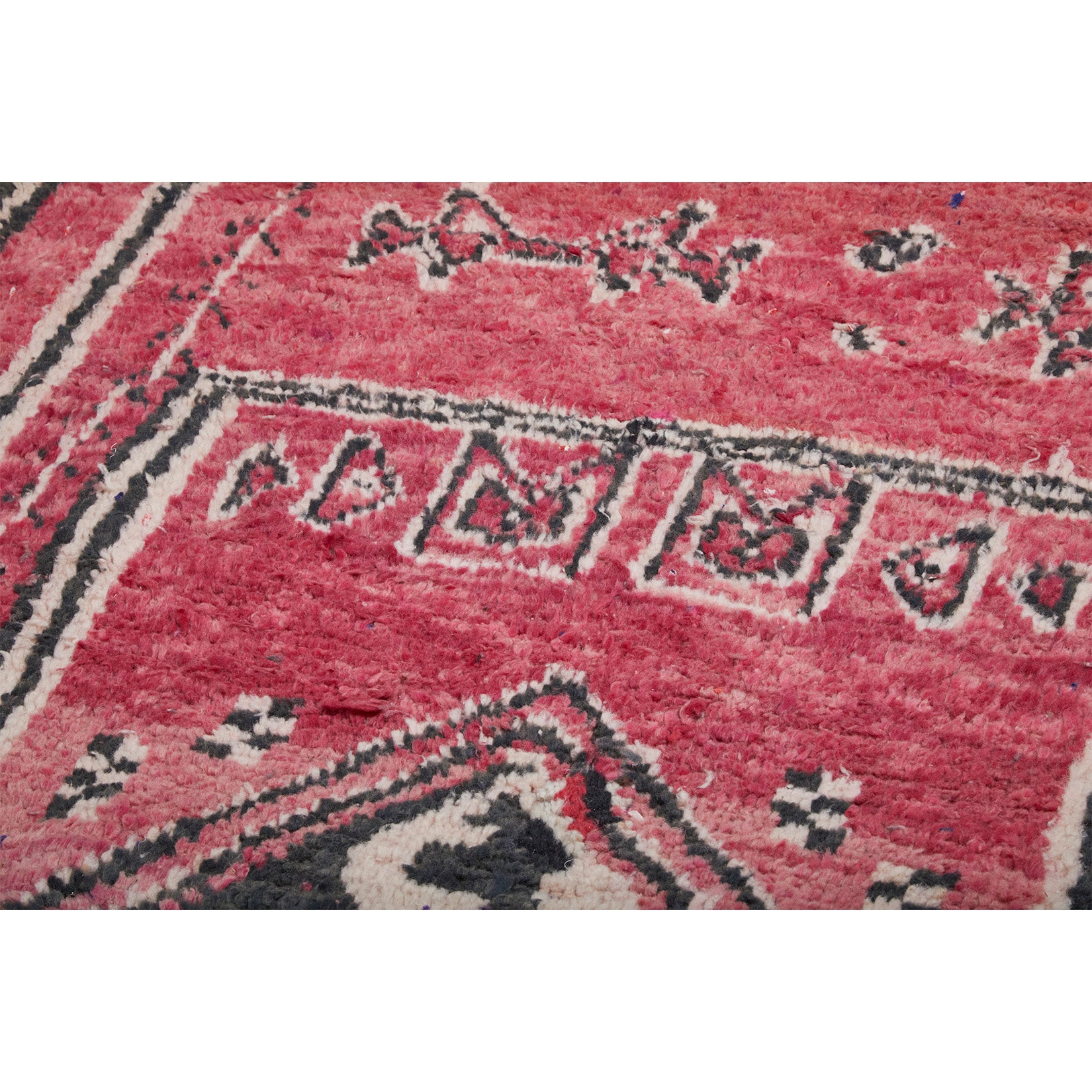 Authentic handknotted red berber rug - Kantara | Moroccan Rugs