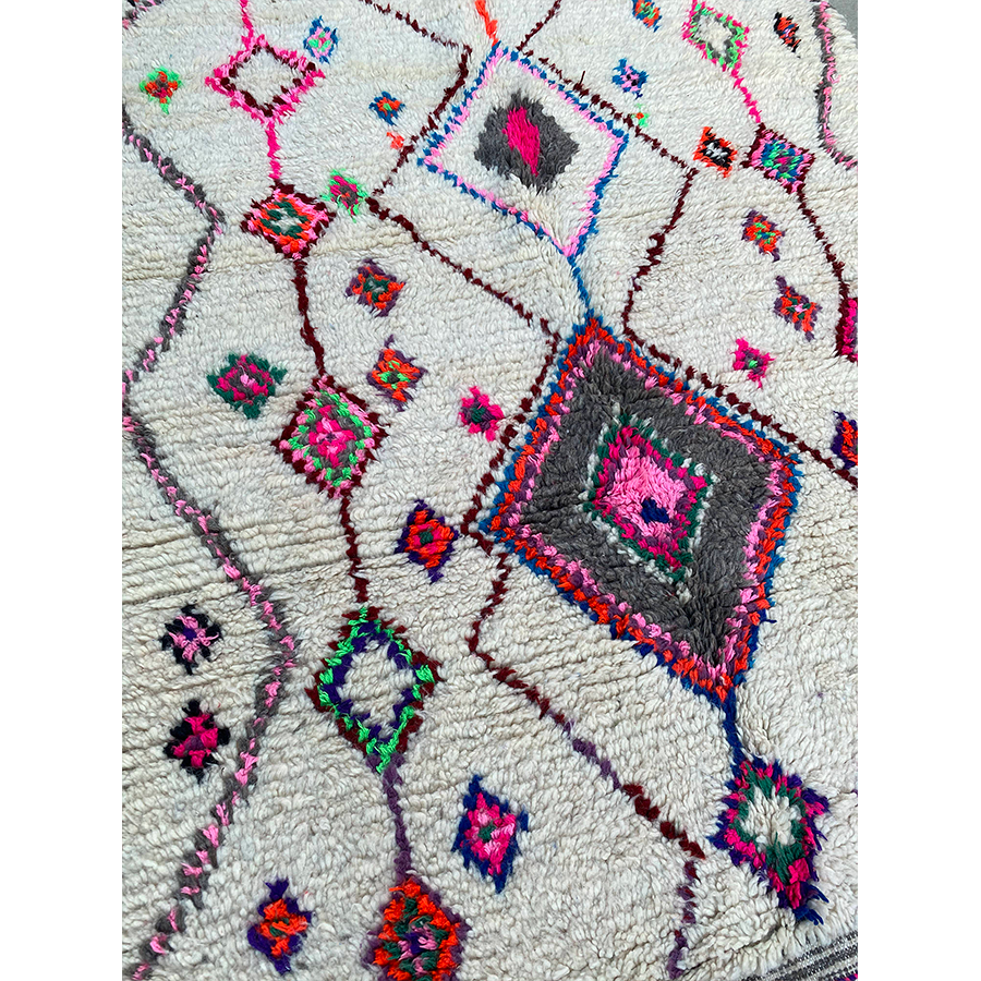 Authentic Moroccan Ourika rug  - Kantara | Moroccan Rugs