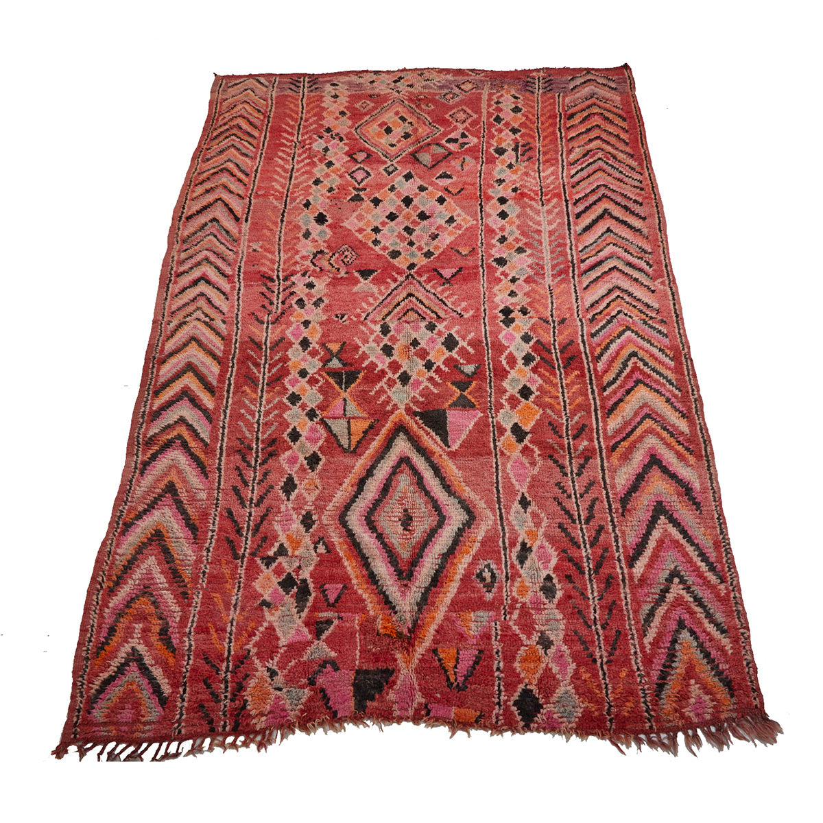 Large tribal Moroccan area rug with warm details - Kantara | Moroccan Rugs