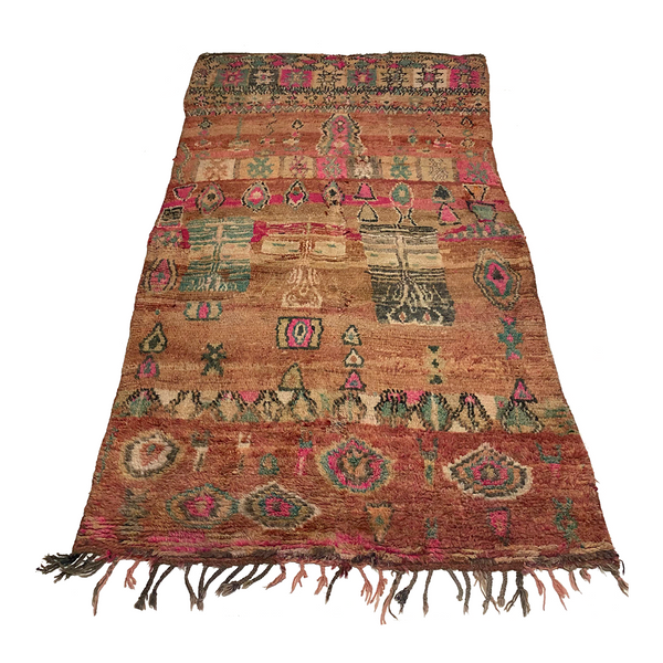 Large colorful boho chic Moroccan area rug - Kantara | Moroccan Rugs