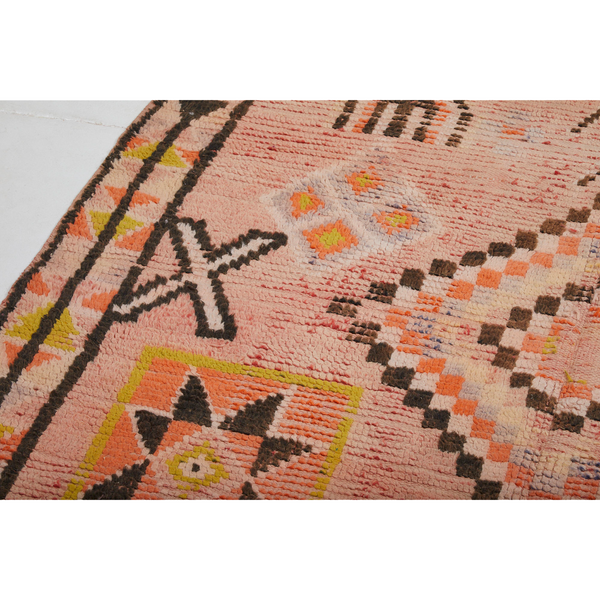 Colorful warm vintage berber carpet - Kantara | Moroccan Rugs