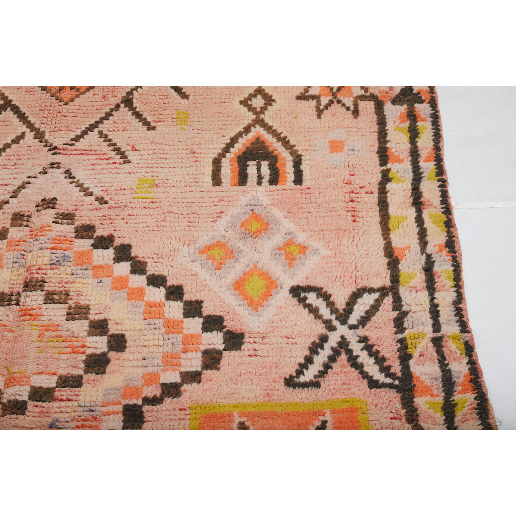 Unique hand knotted wool berber carpet - Kantara | Moroccan Rugs