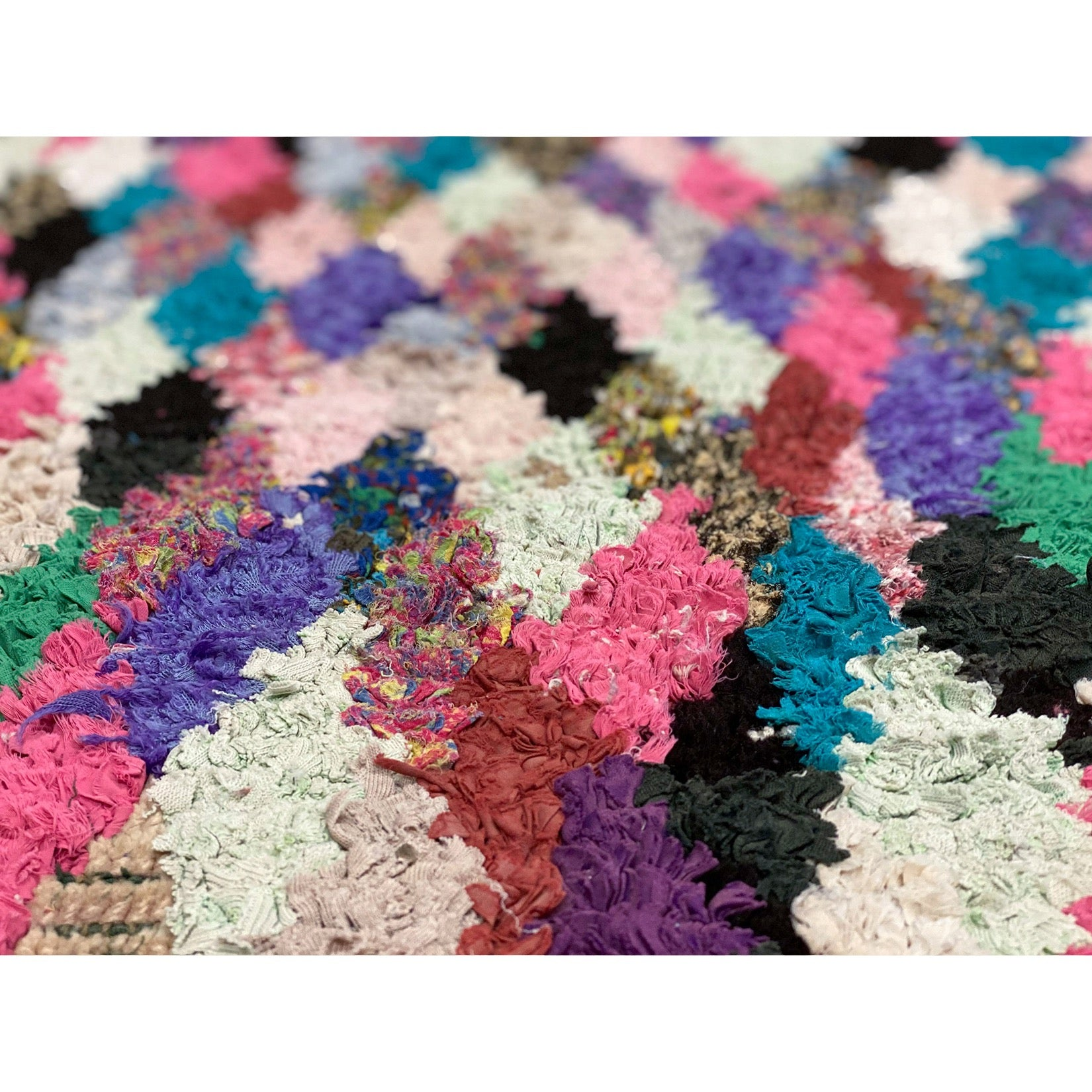 Moroccan playroom rug with colorful details - Kantara | Moroccan Rug