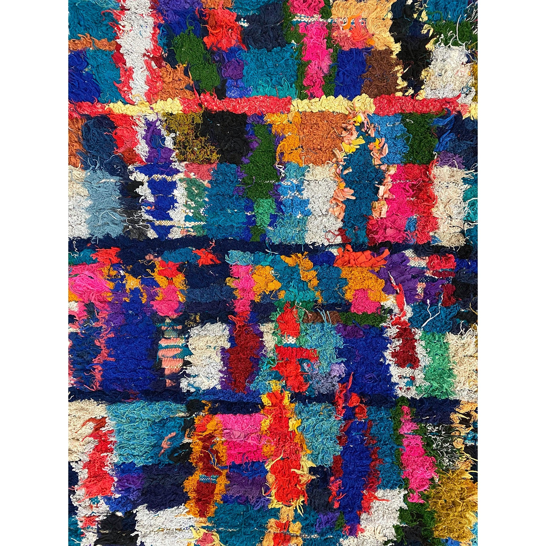 Small colorful Moroccan playroom rug - Kantara | Moroccan Rugs