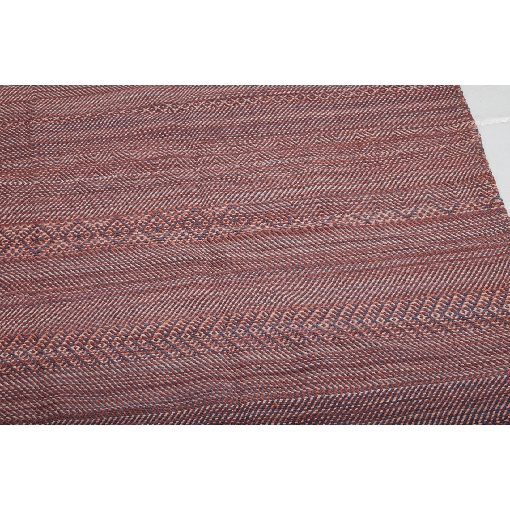 Authentic tribal red berber carpet - Kantara | Moroccan Rugs