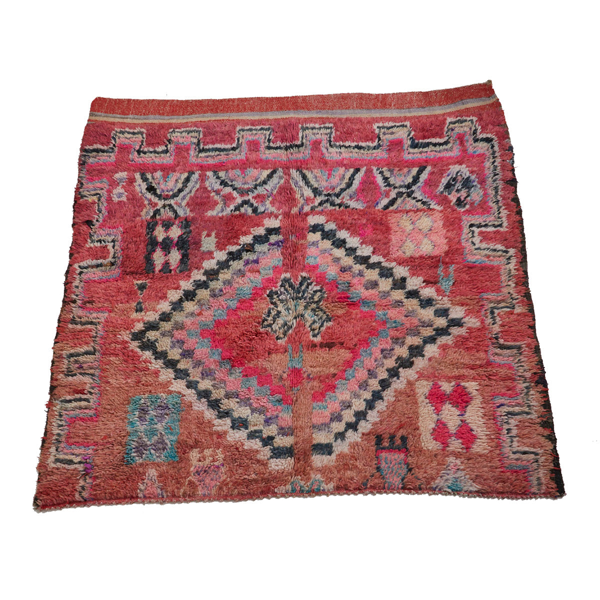 Authentic boujaad Moroccan berber carpet - Kantara | Moroccan Rugs