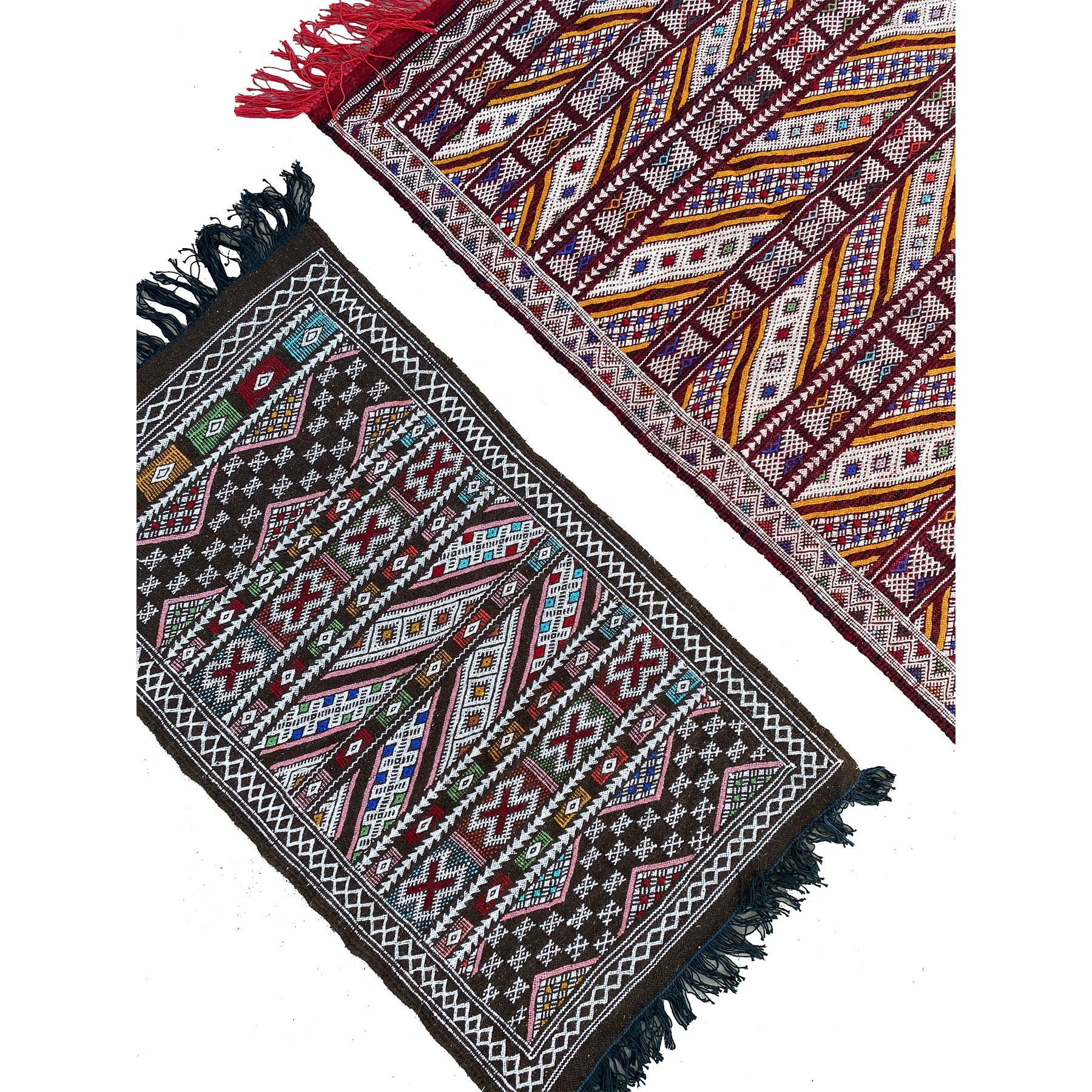 Colorful authentic Moroccan flatweave kilim rugs - Kantara | Moroccan Rugs