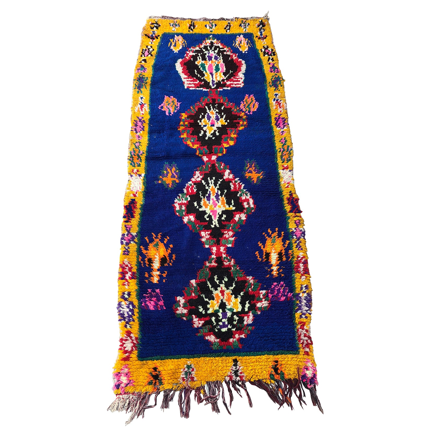 Authentic tribal Moroccan rug