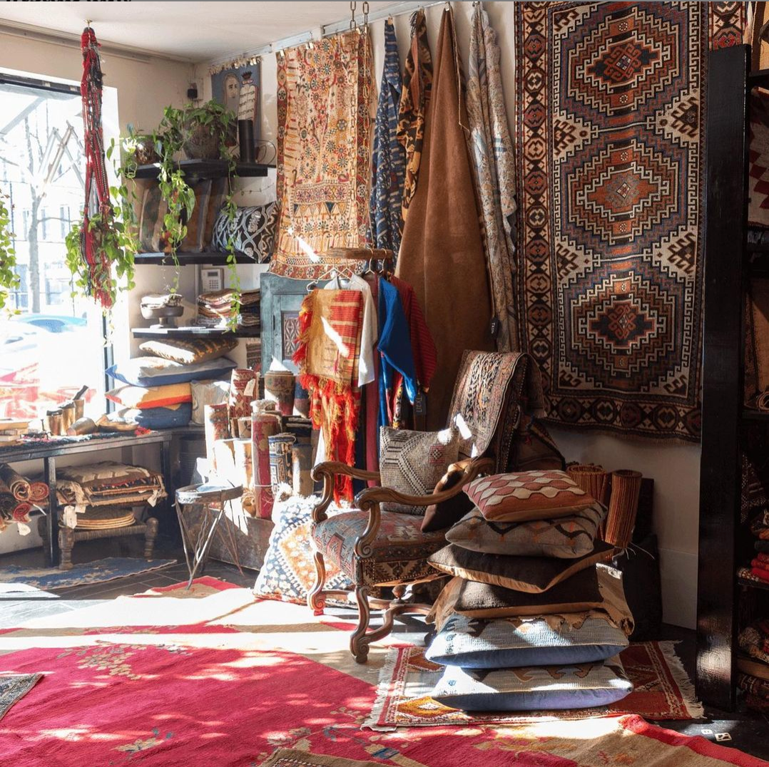 Collection of rare vintage and antique rugs