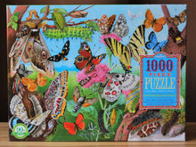 Load image into Gallery viewer, Butterflies and Moths 1000 Piece Puzzle