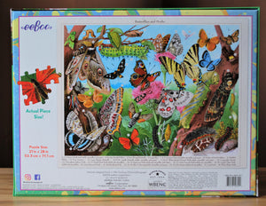 Butterflies and Moths 1000 Piece Puzzle