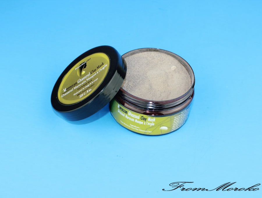 Moroccan Ghassoul Clay Mask
