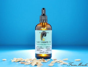 Hair Growth Oil With Argan Oil And Castor Oil
