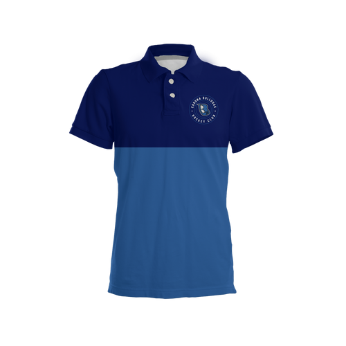 Corona Bulldogs Color Block Polo Shirt product image