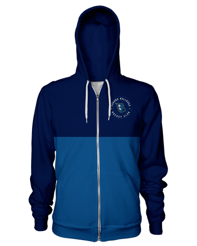 Corona Bulldogs Color Block Zip Hoodie product image