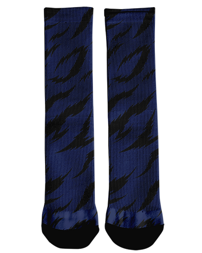 Corona Bulldogs Stripes Crew Socks product image