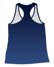 Load image into Gallery viewer, Corona Bulldogs Fade Womens Racerback Tank product image