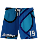 Corona Bulldogs Oversized Logo Athletic Shorts product image