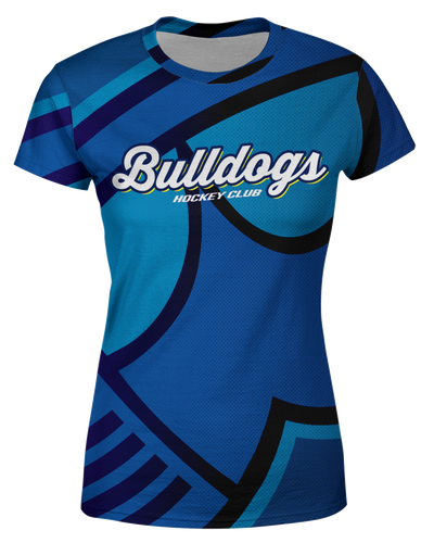 Corona Bulldogs Oversized Logo Womens T shirt product image