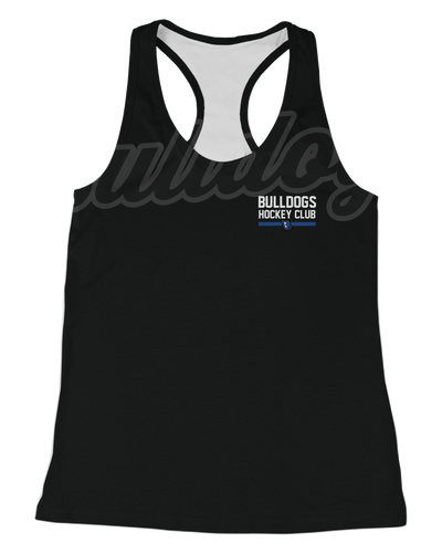 Corona Bulldogs Ghosted Womens Racerback Tank product image