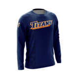CSUF Titans Hockey Team T-Shirt (Long Sleeve)