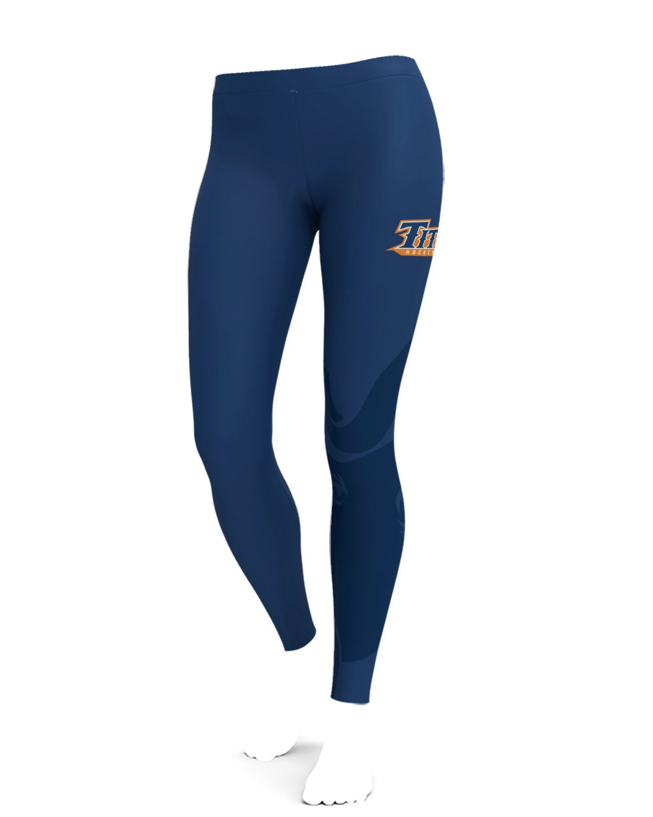 CSUF Titans - Fashion Cut Leggings