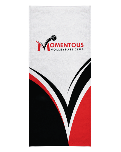 Momentous Whiteout Beach Towel product image