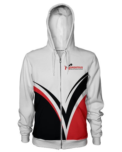 Momentous Whiteout Zip Hoodie product image