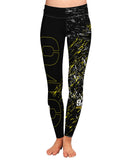 949 Athletics - Splatter Fashion Cut Leggings
