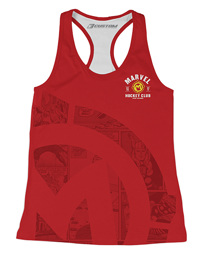 Marvel Established Womens Racerback Tank product image
