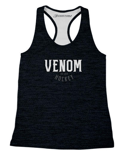 SJVenom Heathered Womens Racerback Tank product image
