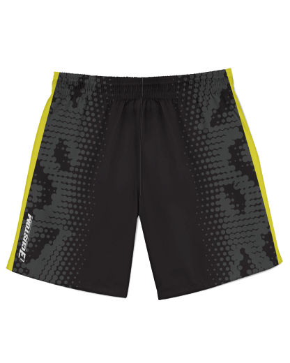 SJVenom Snakeskin Black Athletic Shorts product image