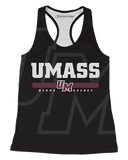 UMass Ghosted Womens Racerback Tank product image