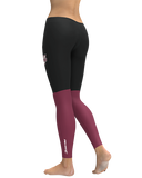 UMass Black Color Block Leggings product image